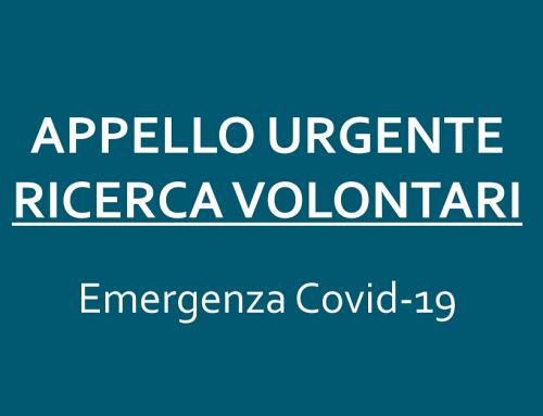 Appello urgente: ricerca volontari