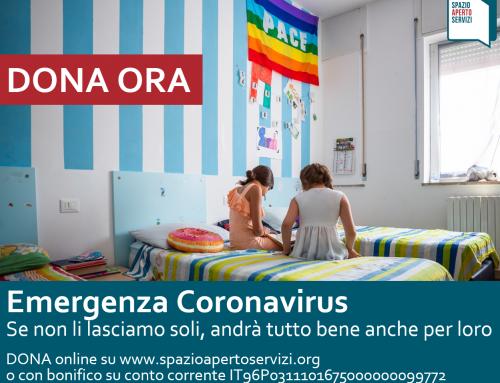 Coronavirus: aiuta ora le comunità minori