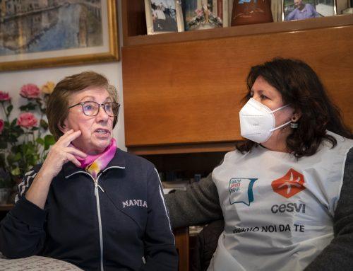 Insieme alla signora Vilma anche per il vaccino